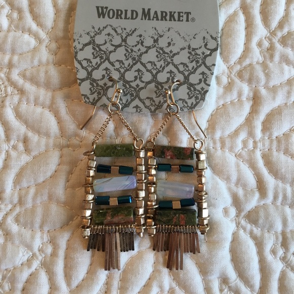 d45af9c2c2420 World Market Beautiful Earrings☀️ NWT
